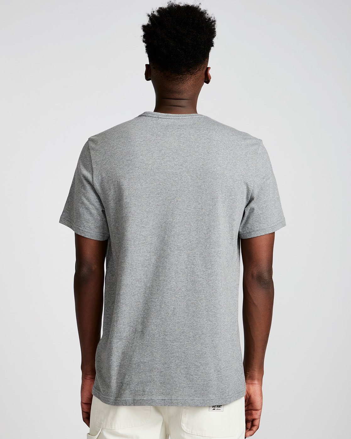 2 By Hand Ss - Tee Shirt for Men Grey N1SSE3ELP9 Element