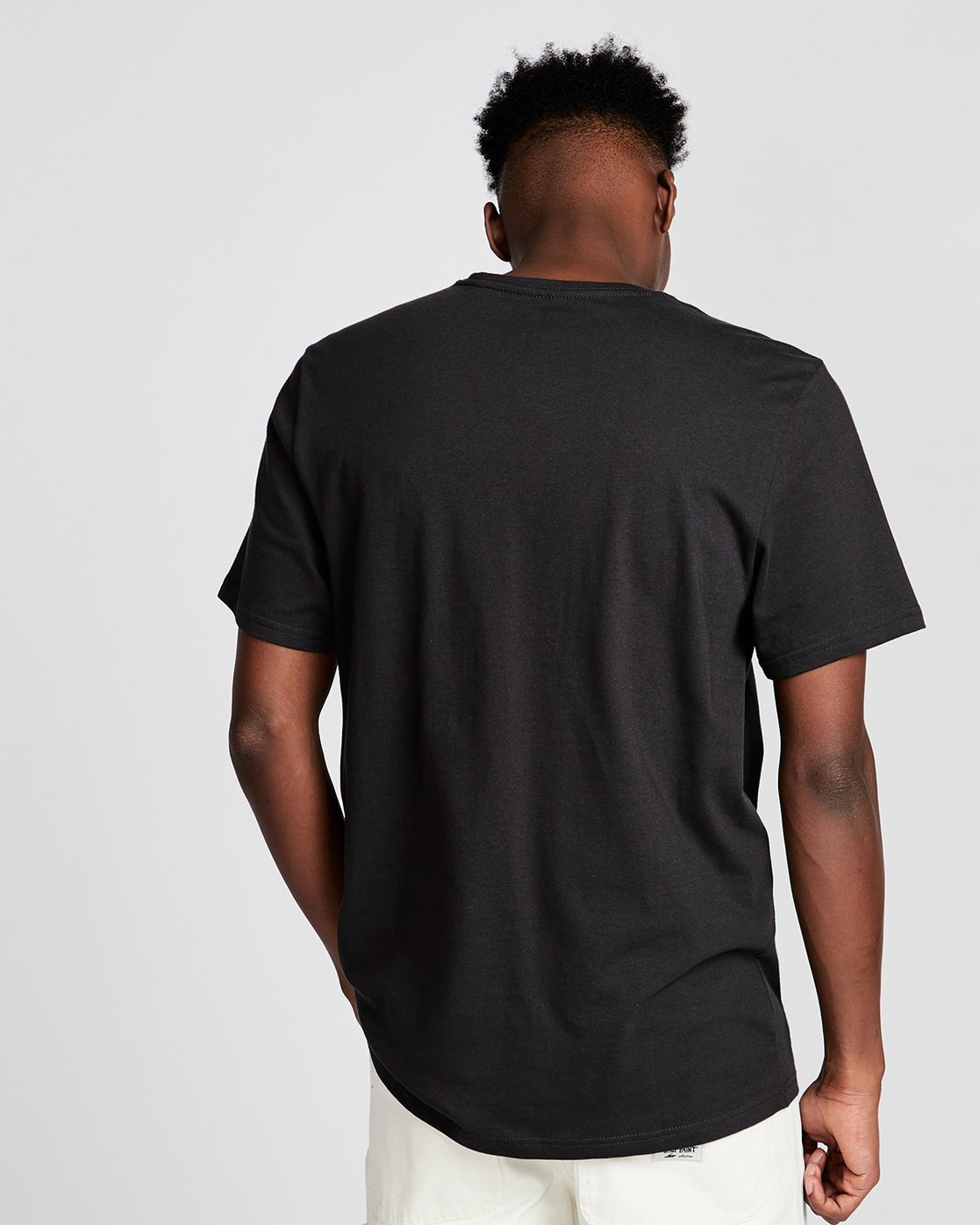 2 By Hand Ss - Tee Shirt for Men Black N1SSE3ELP9 Element