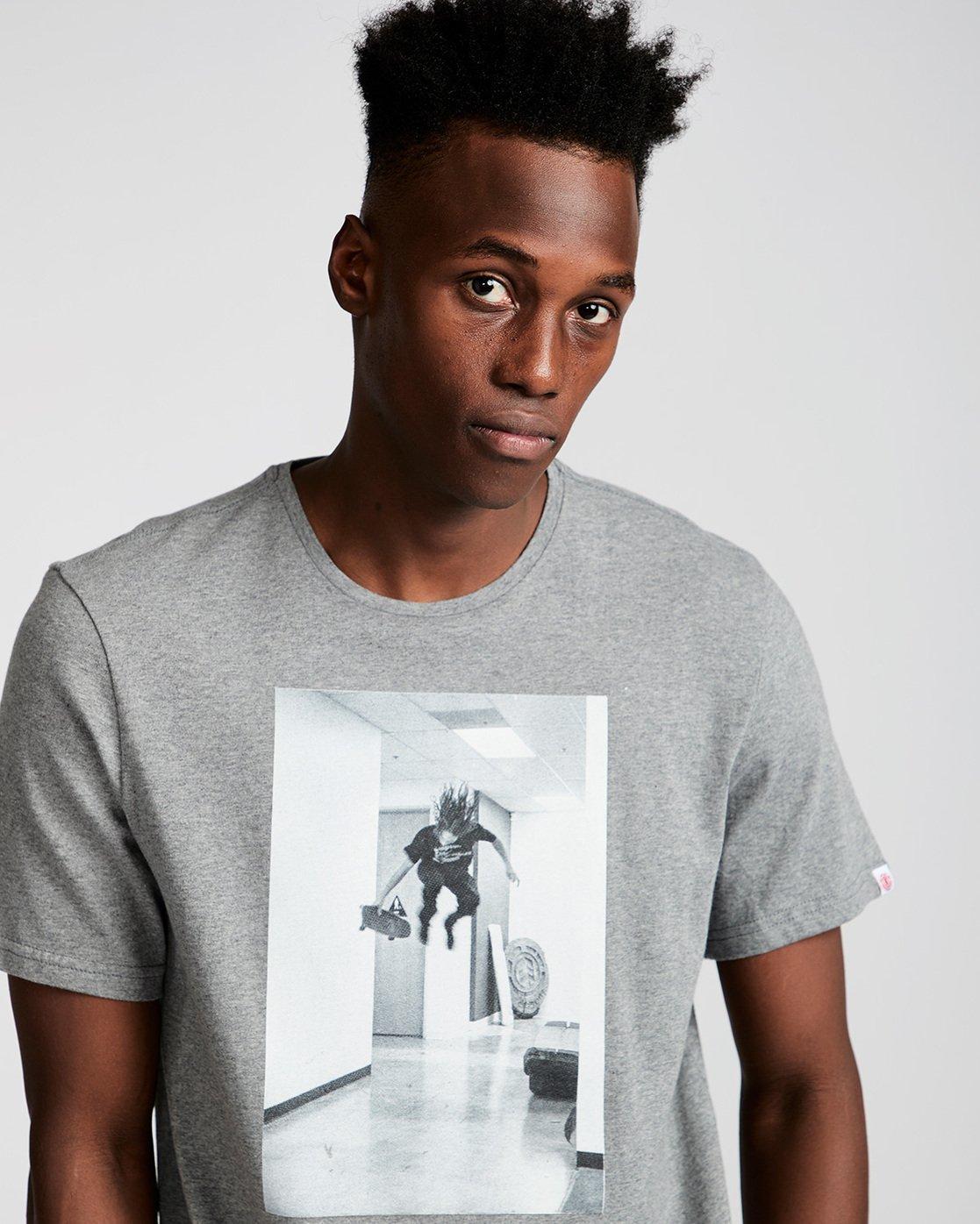 1 Hr Ss - Tee Shirt for Men Grey N1SSE7ELP9 Element