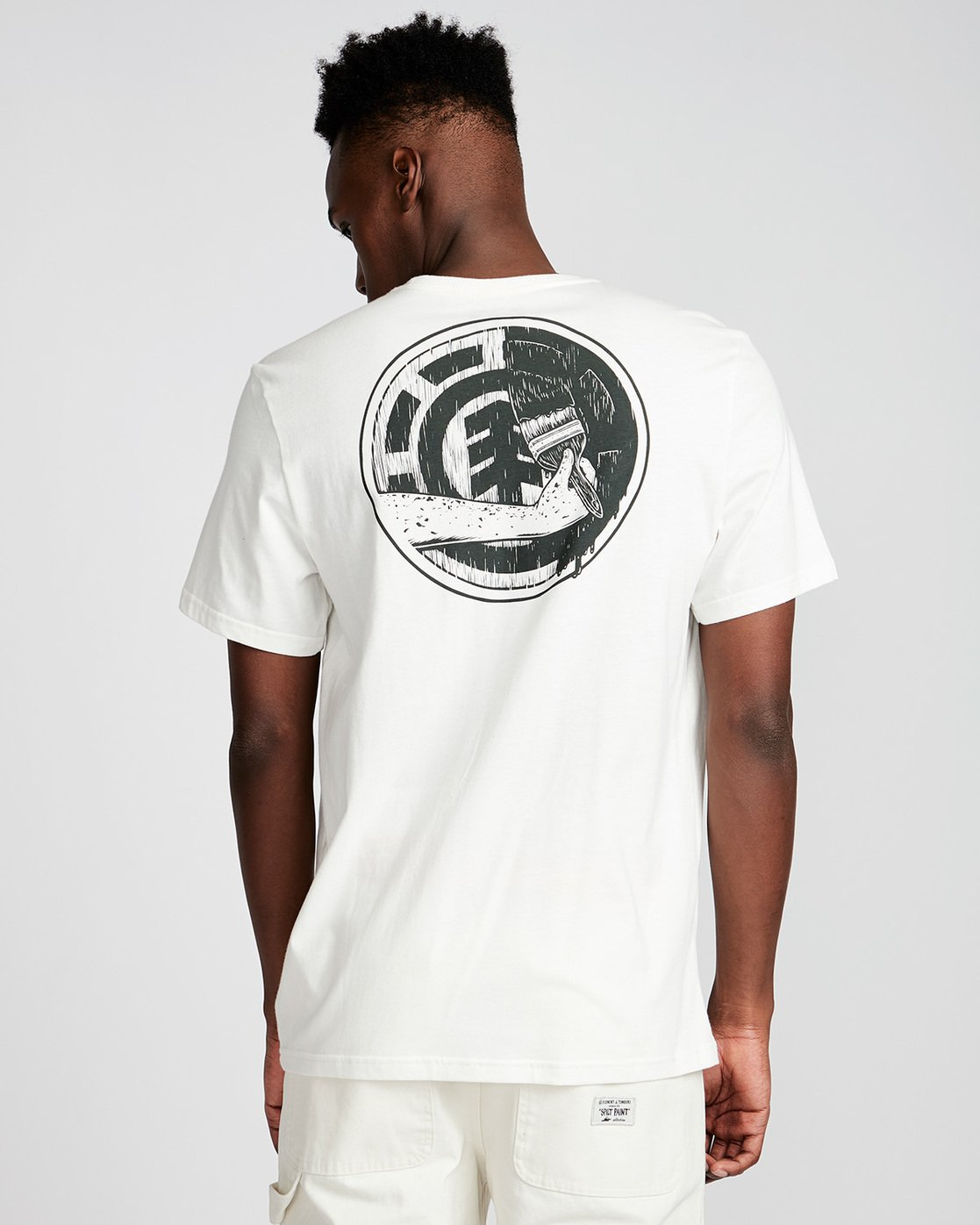 2 Painted Ss - Tee Shirt for Men White N1SSE9ELP9 Element