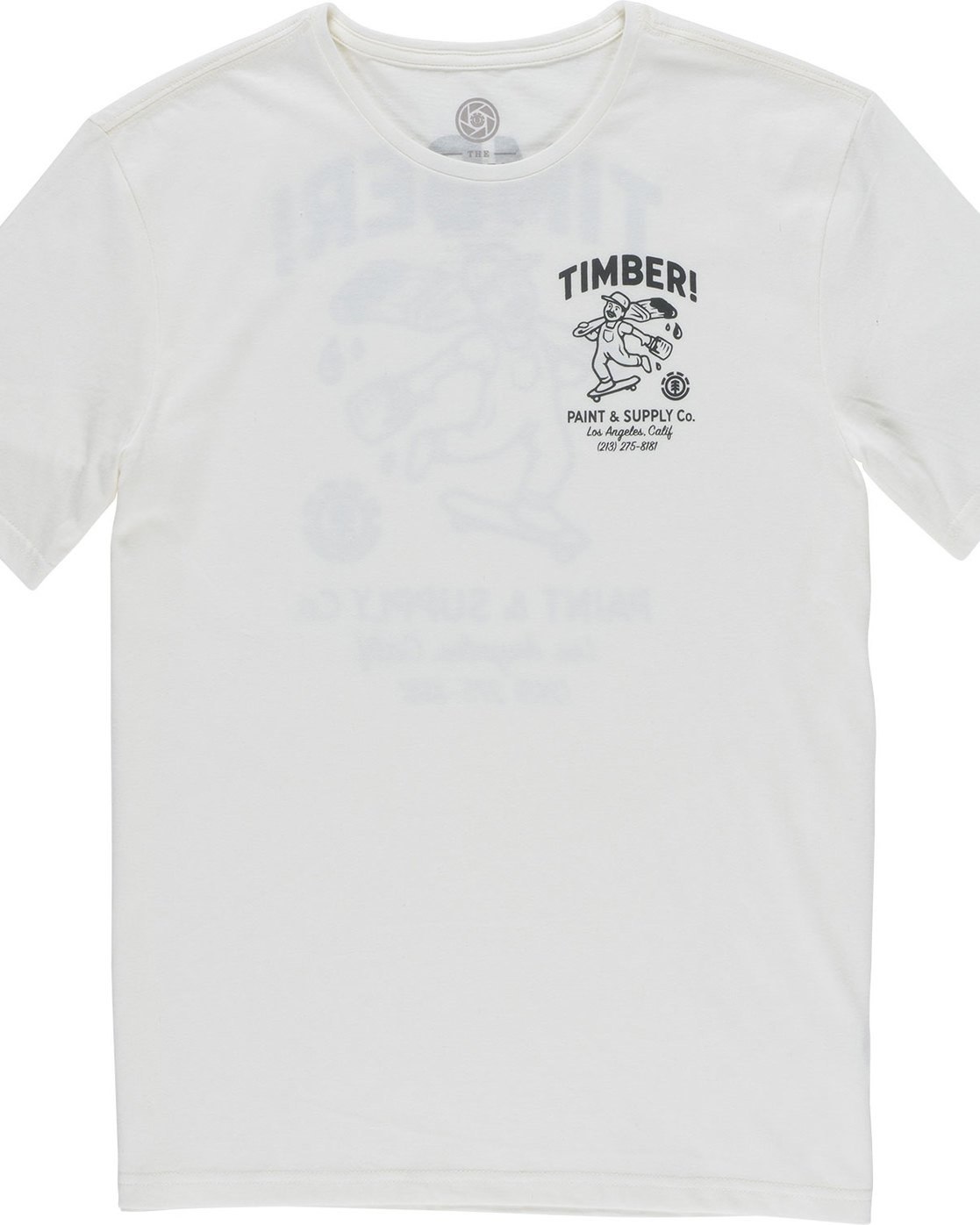 6 Supply Co Ss - Tee Shirt for Men White N1SSF1ELP9 Element