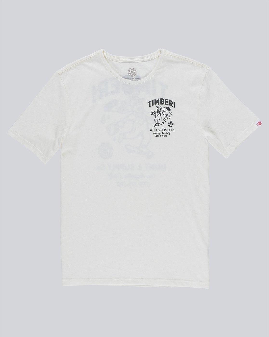 4 Supply Co Ss - Tee Shirt for Men White N1SSF1ELP9 Element
