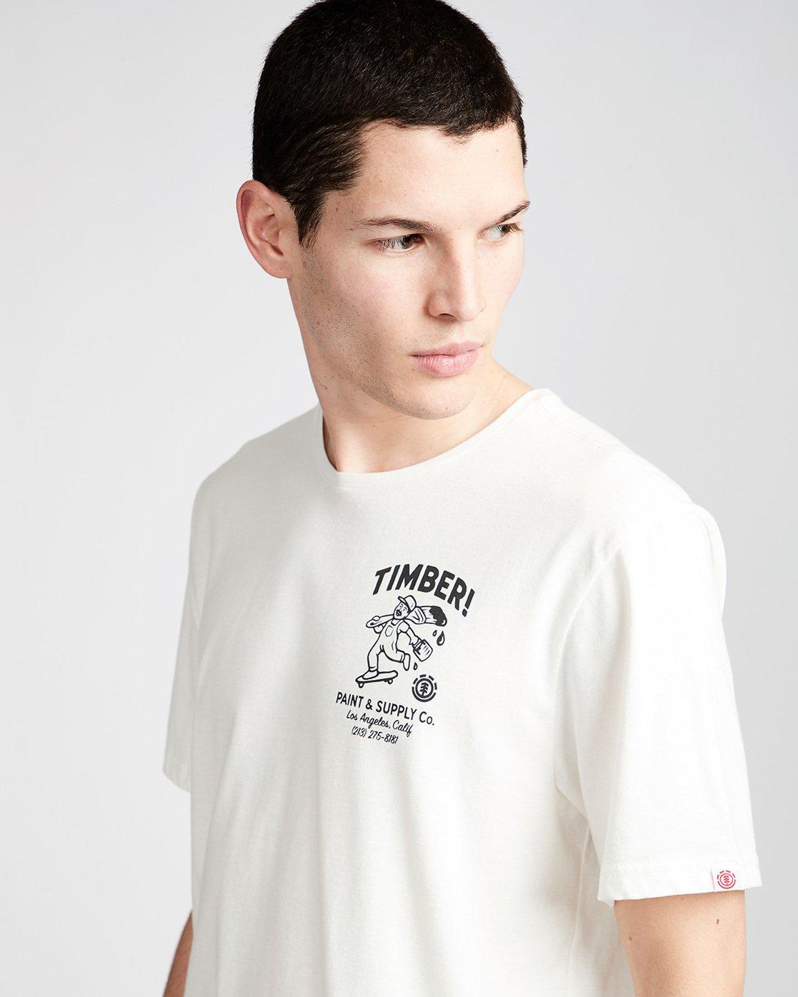1 Supply Co Ss - Tee Shirt for Men White N1SSF1ELP9 Element