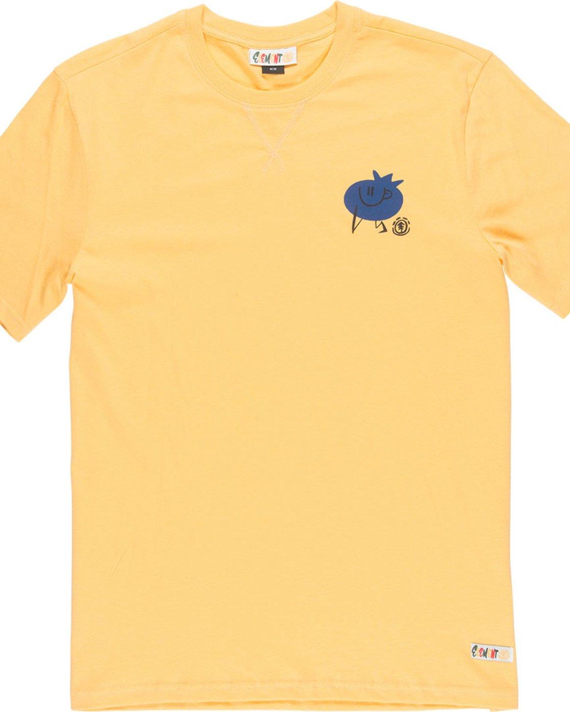4 Yawyd Healthy Ss Tee - Tee Shirt for Men Yellow N1SSF4ELP9 Element