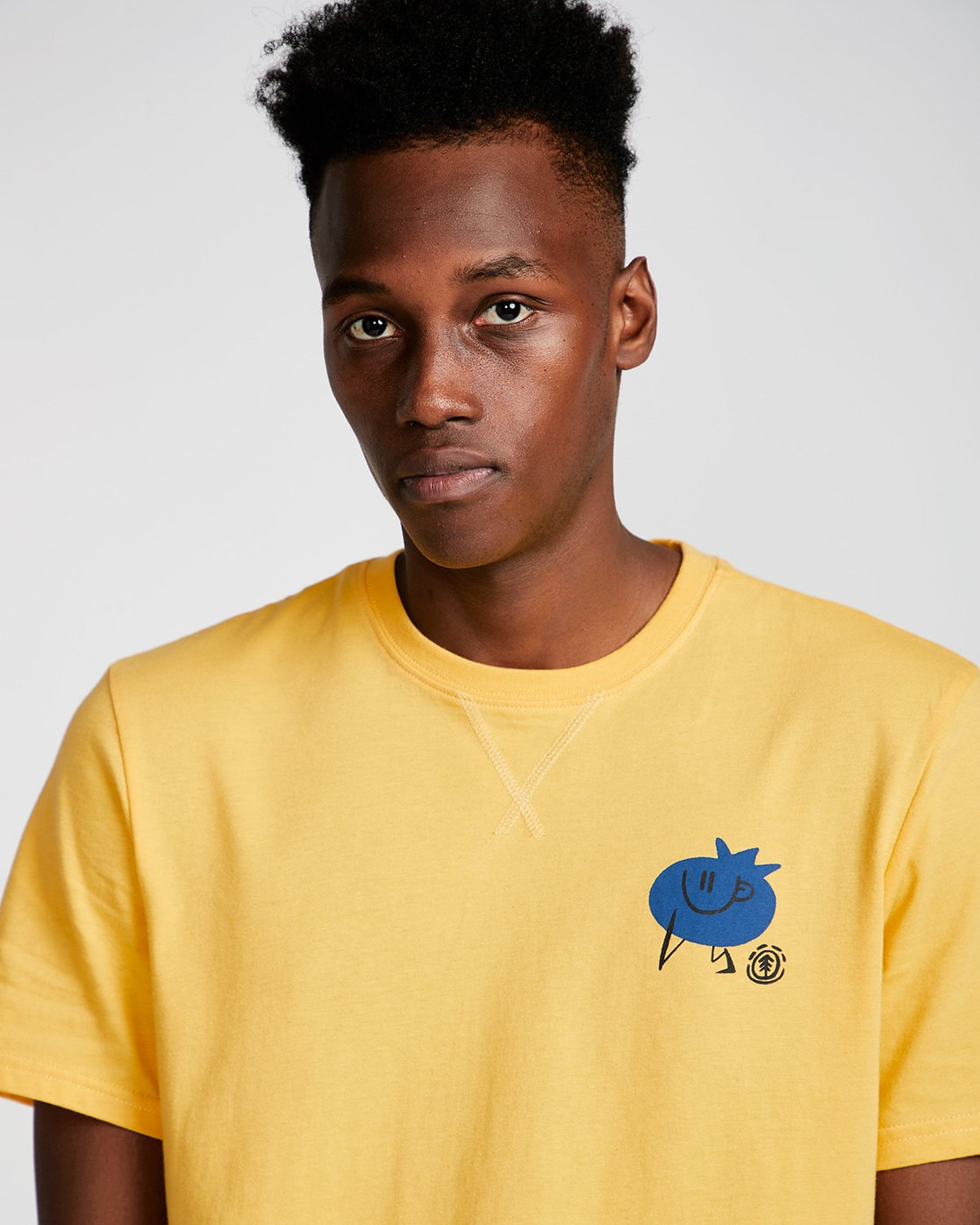 1 Yawyd Healthy Ss Tee - Tee Shirt for Men Yellow N1SSF4ELP9 Element