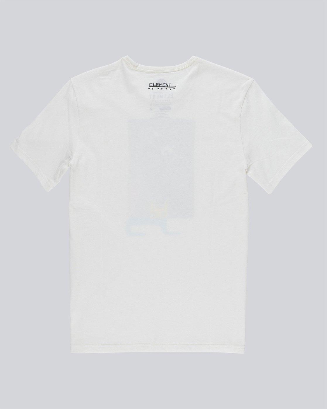 1 Jaakko Cat Ss - Tee Shirt for Men White N1SSF6ELP9 Element