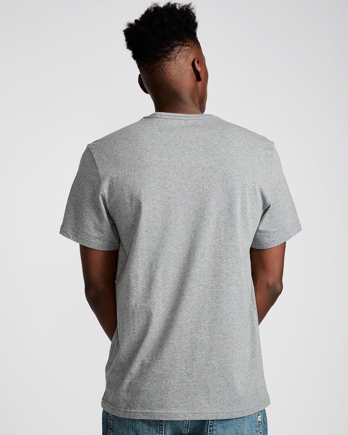 2 Nassim Ss - Tee Shirt for Men Grey N1SSF7ELP9 Element