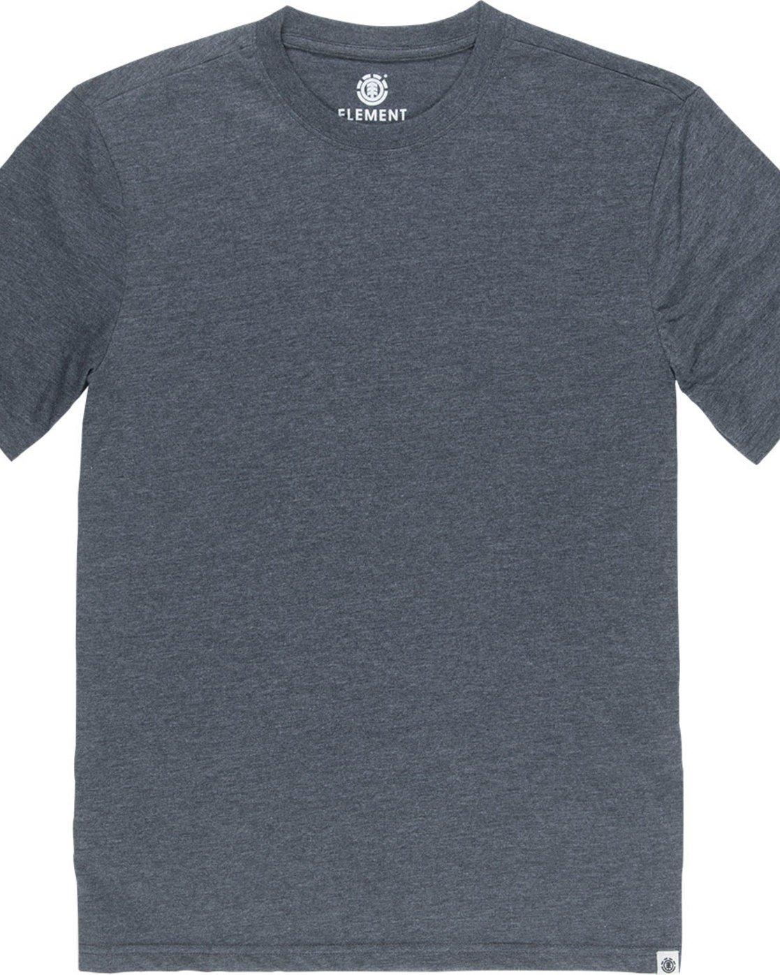 4 Basic Crew - T-Shirt Grey N1SSG1ELP9 Element