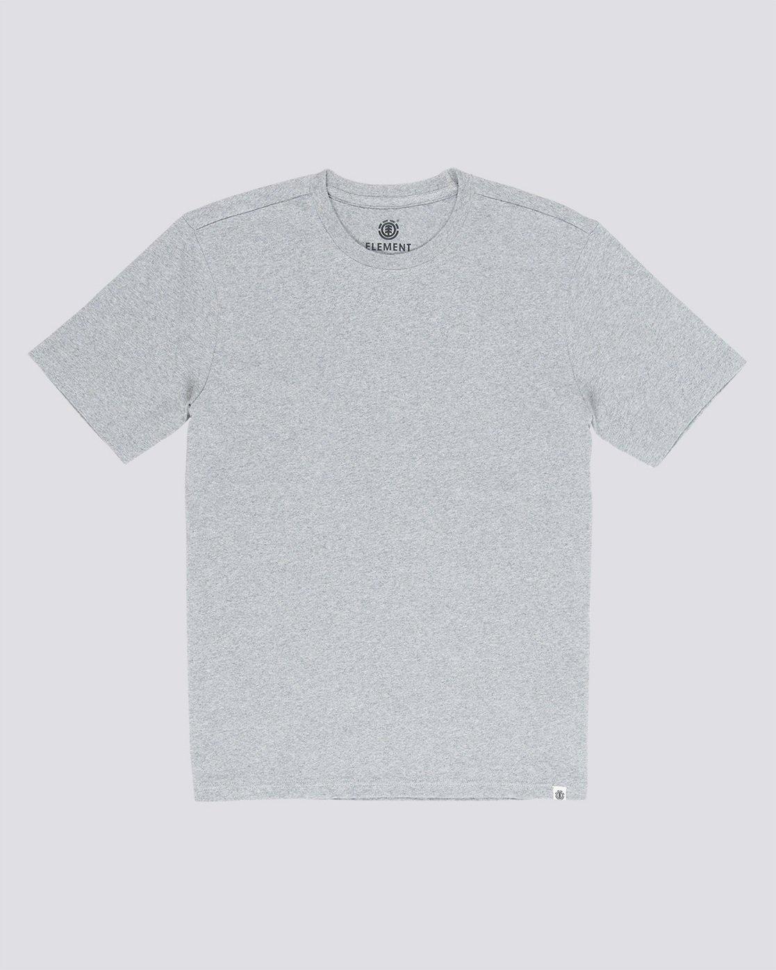 0 Basic - Maglietta a maniche corte Gray N1SSG1ELP9 Element