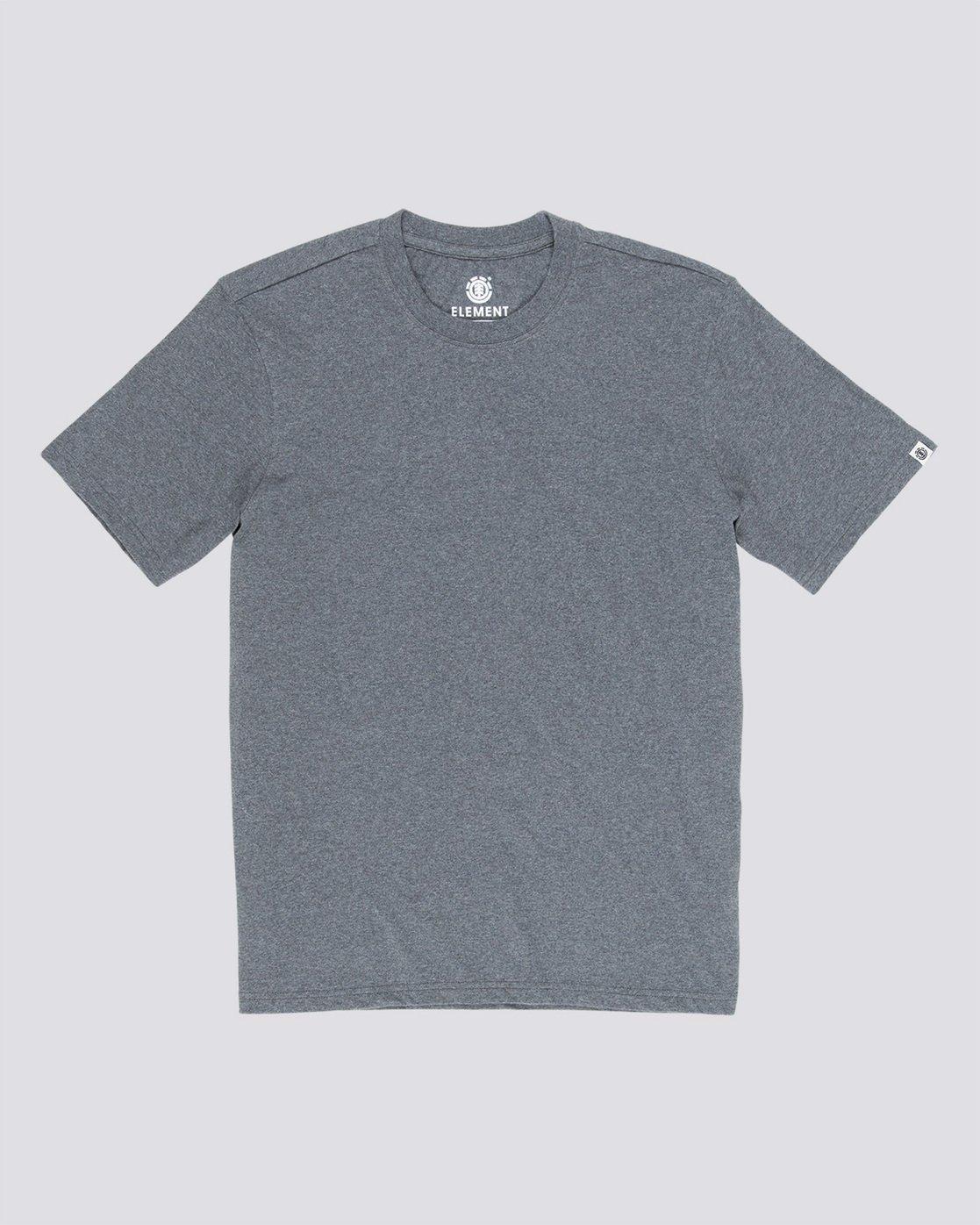 3 Basic Crew - T-Shirt Grey N1SSG1ELP9 Element