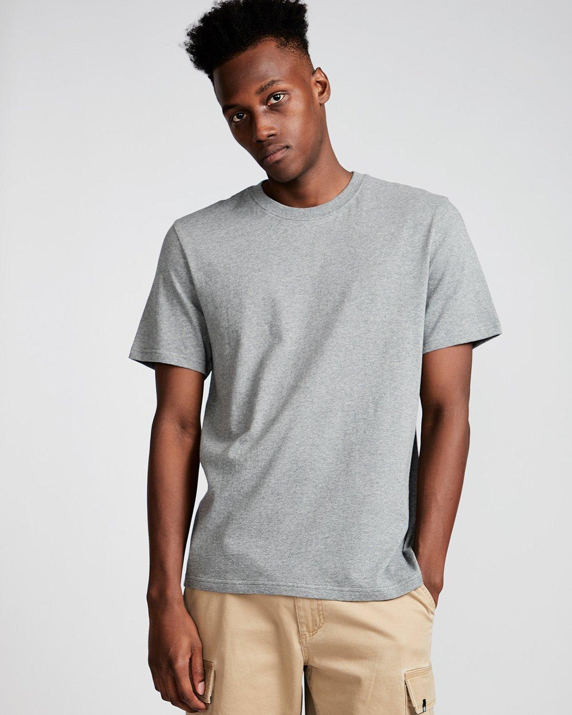 1 Basic - Maglietta a maniche corte Gray N1SSG1ELP9 Element