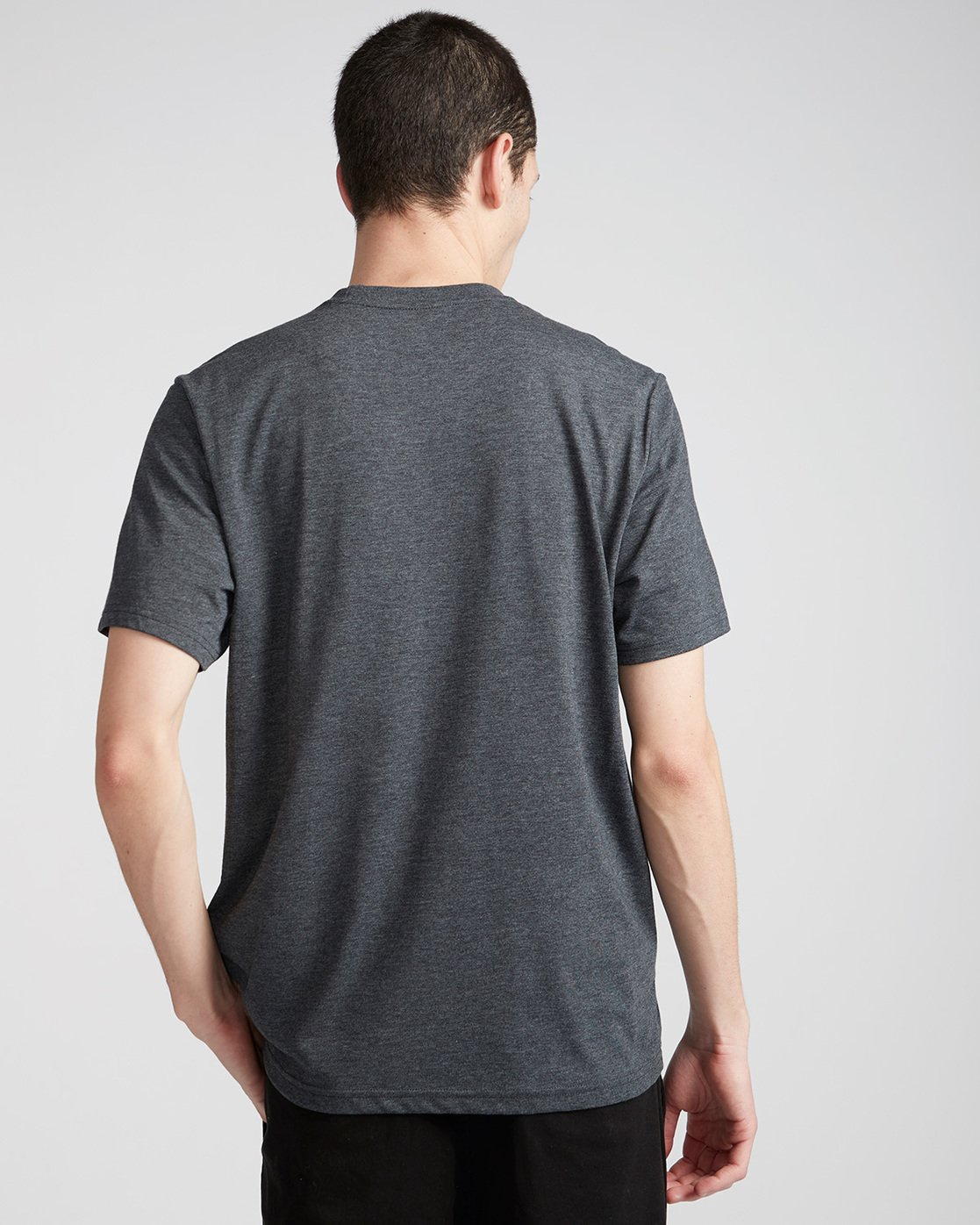 2 Basic Crew - T-Shirt Grey N1SSG1ELP9 Element