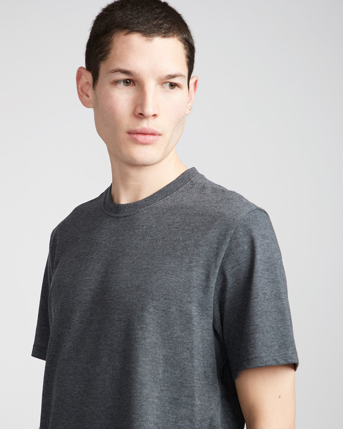 1 Basic Crew - T-Shirt Grey N1SSG1ELP9 Element