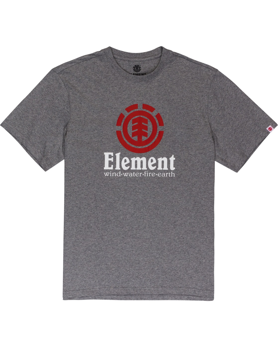 1 Vertical - T-Shirt Grey N1SSG4ELP9 Element
