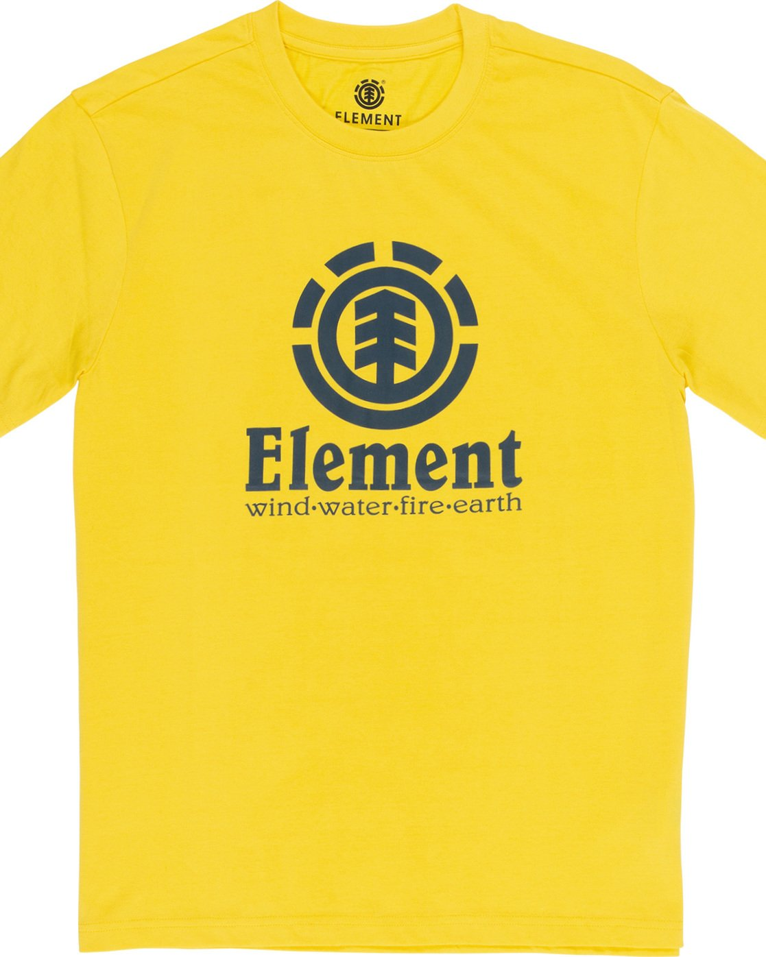 1 Vertical - Short Sleeve T-Shirt for Men Yellow N1SSG4ELP9 Element