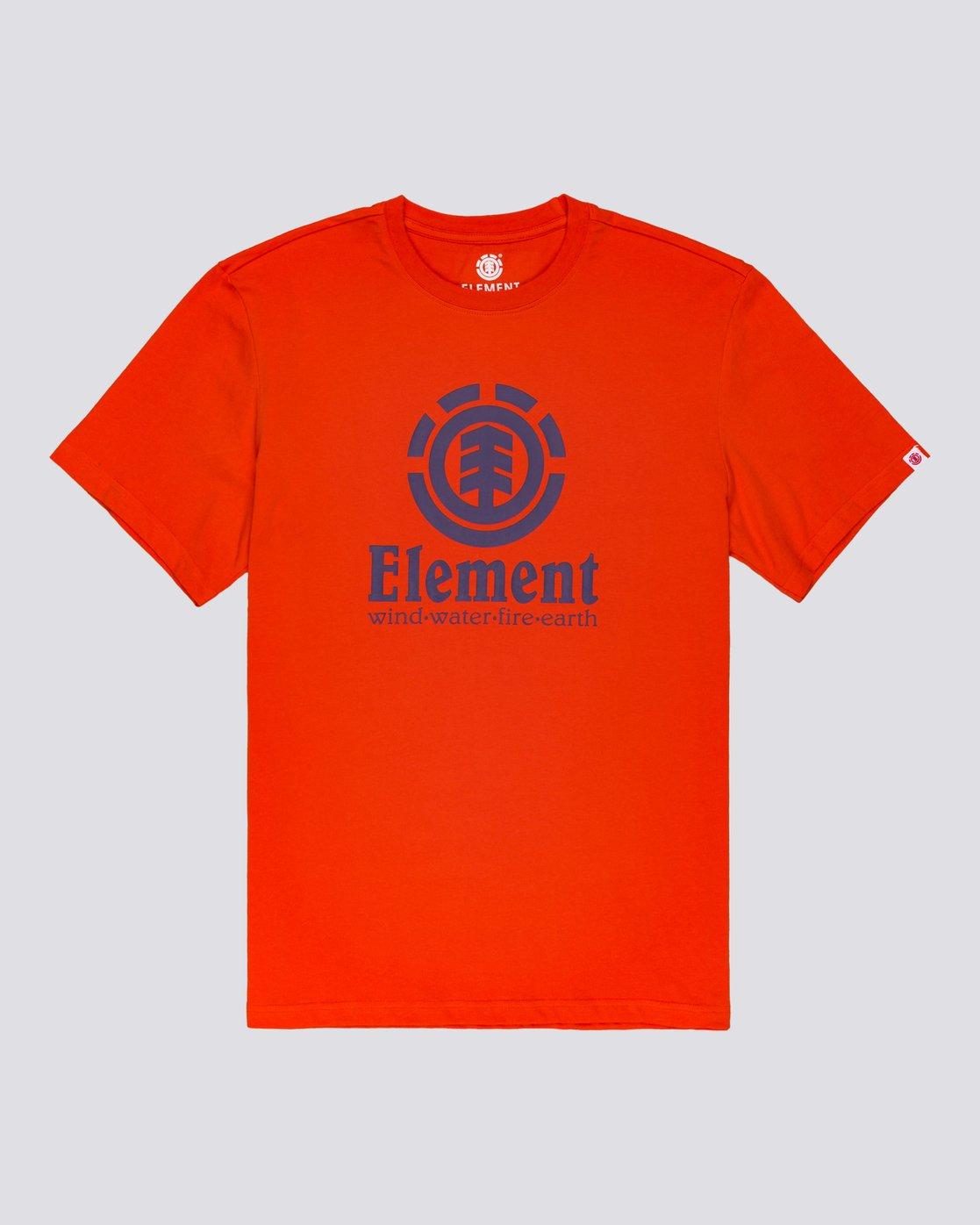 1 Vertical - T-Shirt manches courtes pour Homme  N1SSG4ELP9 Element
