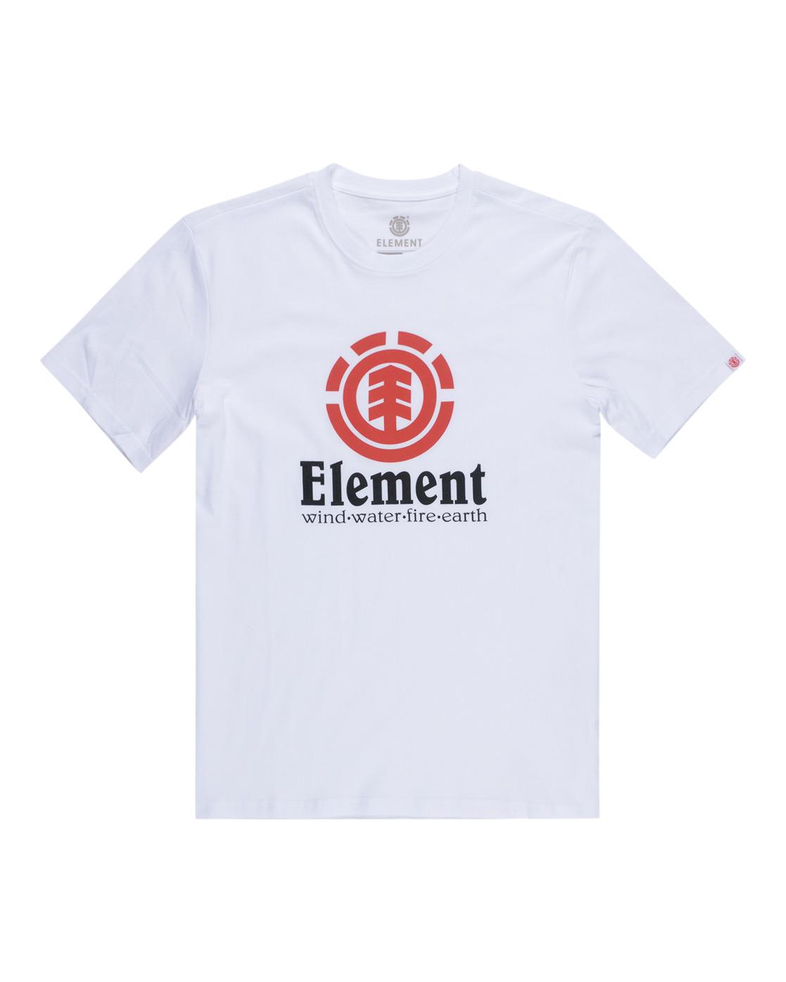 1 Vertical - Maglietta a maniche corte da Uomo White N1SSG4ELP9 Element