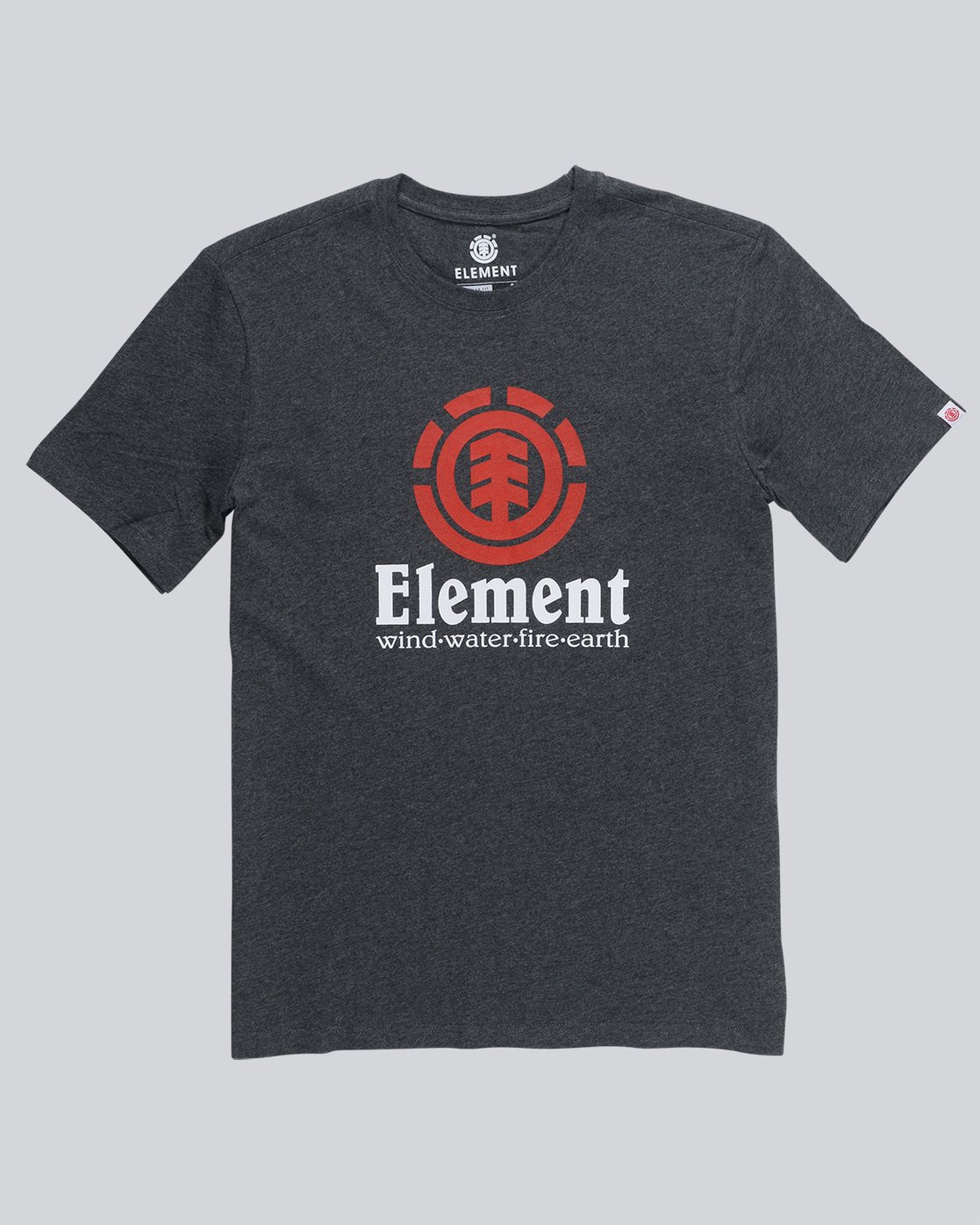0 Vertical - T-Shirt Grey N1SSG4ELP9 Element