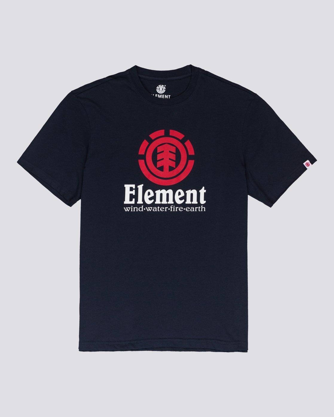 0 Vertical - Maglietta a maniche corte da Uomo Blue N1SSG4ELP9 Element