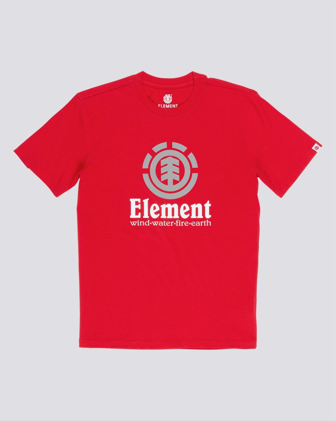 0 Vertical - Maglietta a maniche corte da Uomo Red N1SSG4ELP9 Element