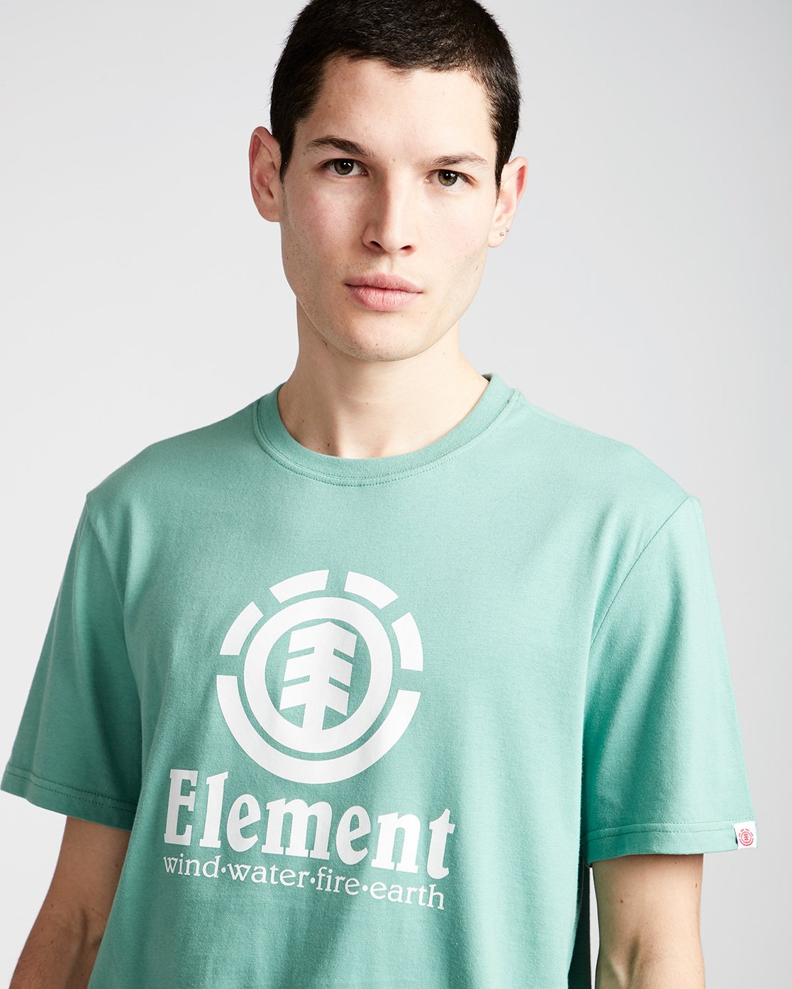 1 Vertical - Short Sleeve T-Shirt for Men  N1SSG4ELP9 Element