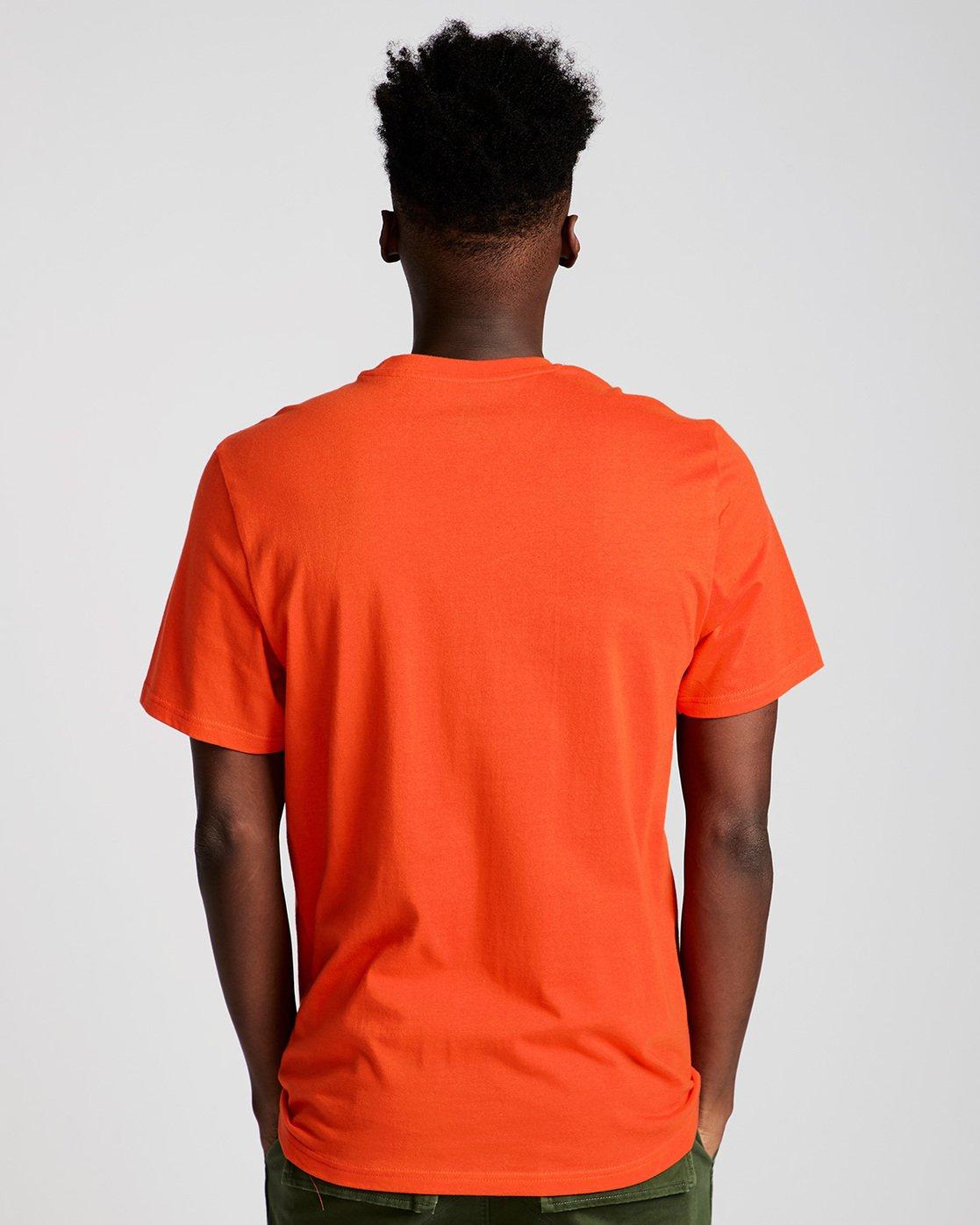 2 Vertical - Short Sleeve T-Shirt for Men Red N1SSG4ELP9 Element