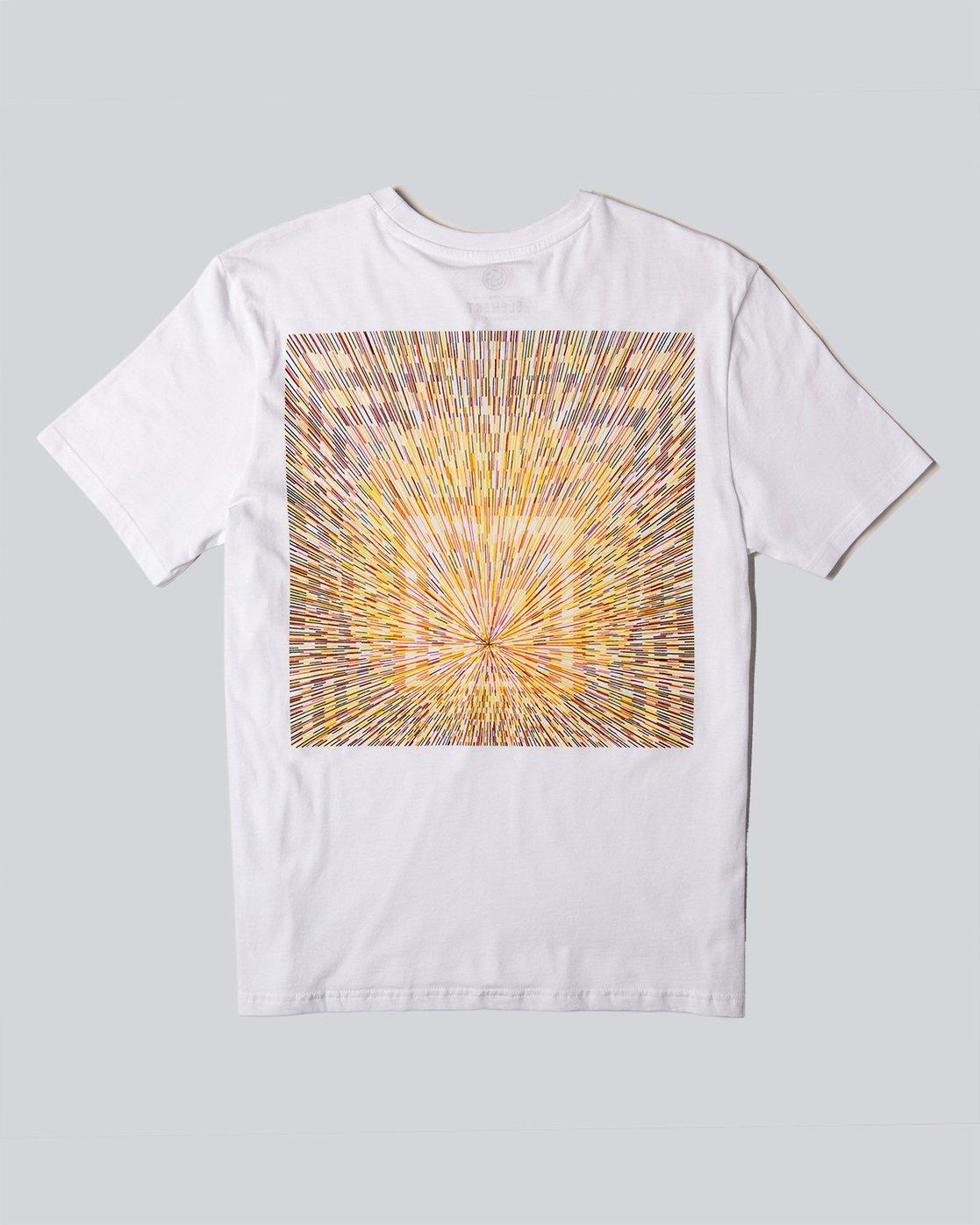1 Brighter Days Ss - Tee Shirt for Men White N1SSH6ELP9 Element