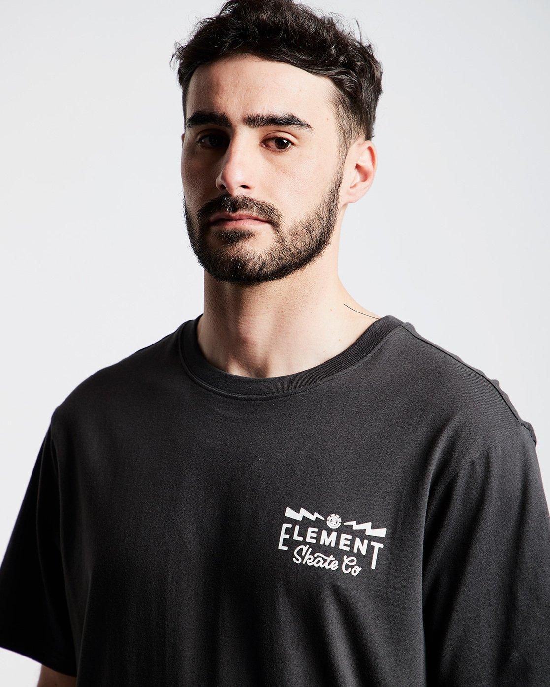 1 Zap Ss Tee Ftm - Tee Shirt for Men Black N1SSI5ELP9 Element