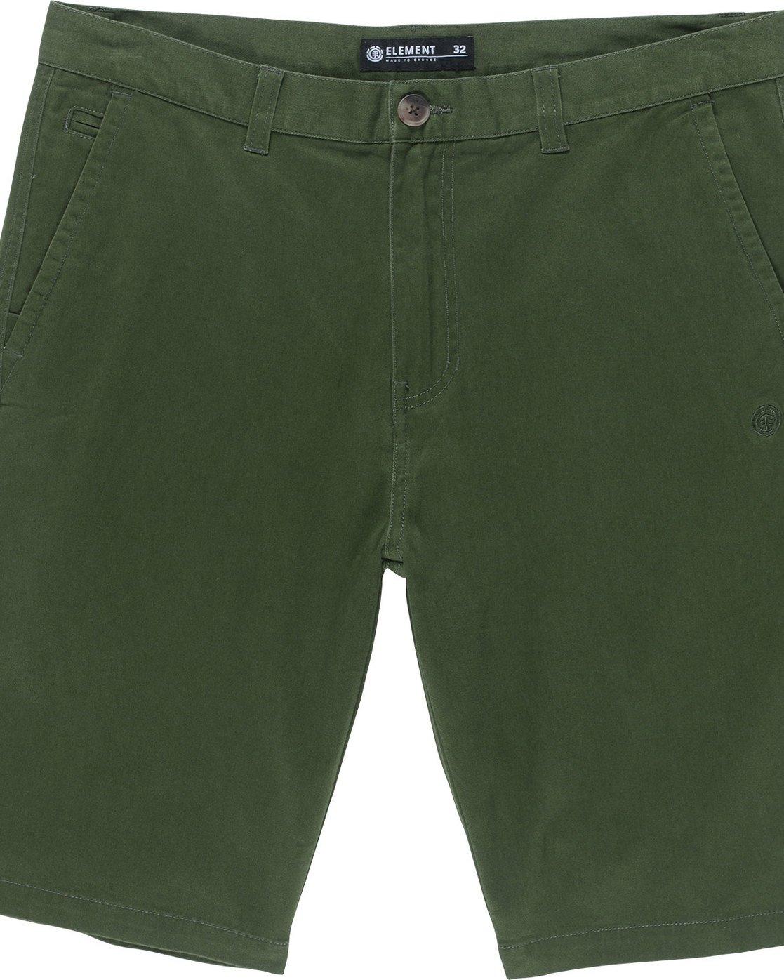 5 Howland Classic Wk - shorts pour Homme Vert N1WKA2ELP9 Element