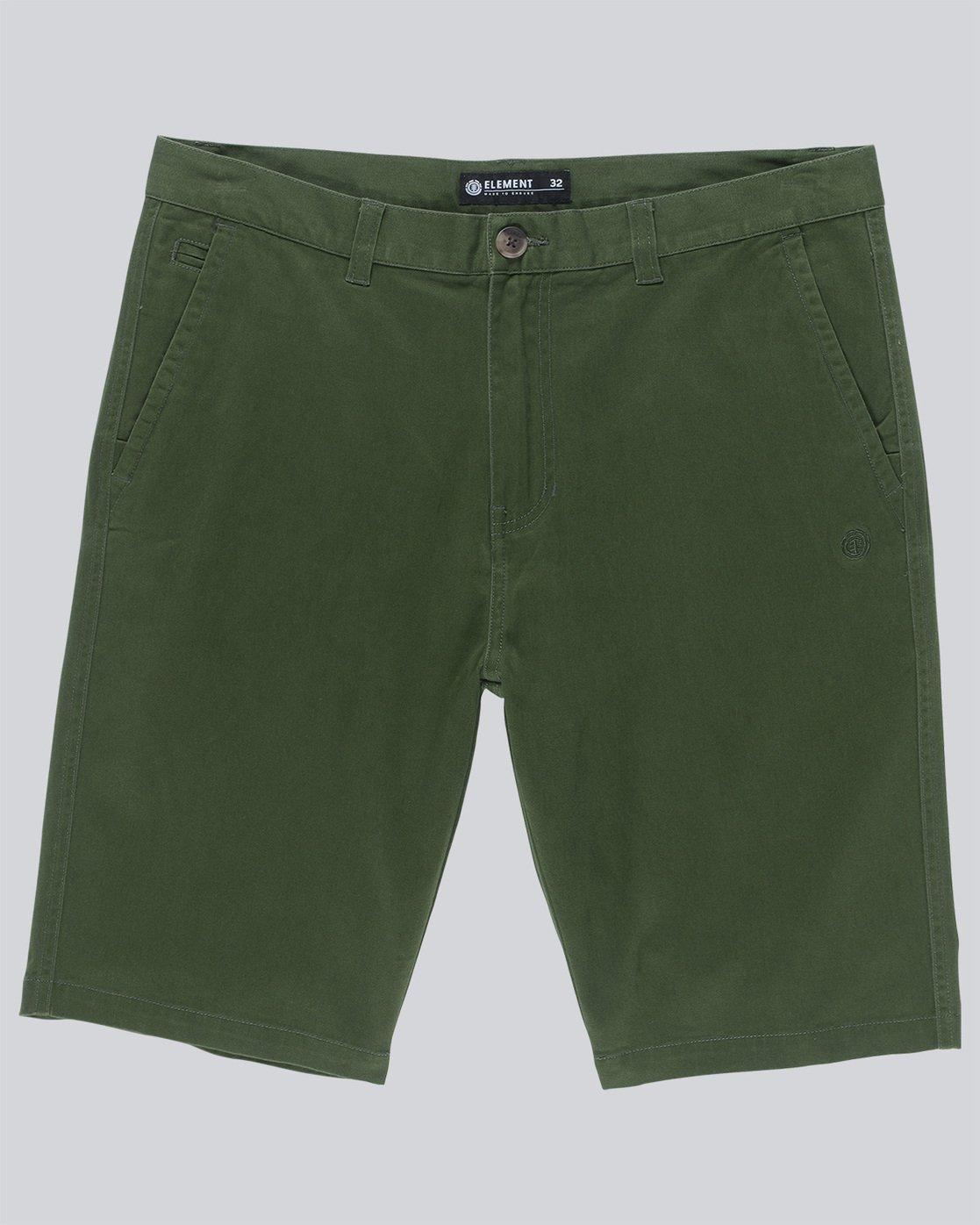 0 Howland Classic Wk - shorts pour Homme Vert N1WKA2ELP9 Element