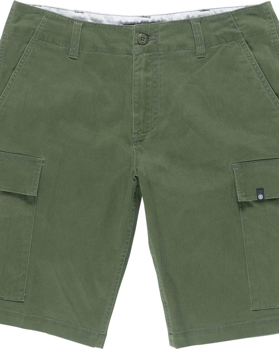 """5 Legion Cargo 21"""" - Shorts for Men Green N1WKA3ELP9 Element"""