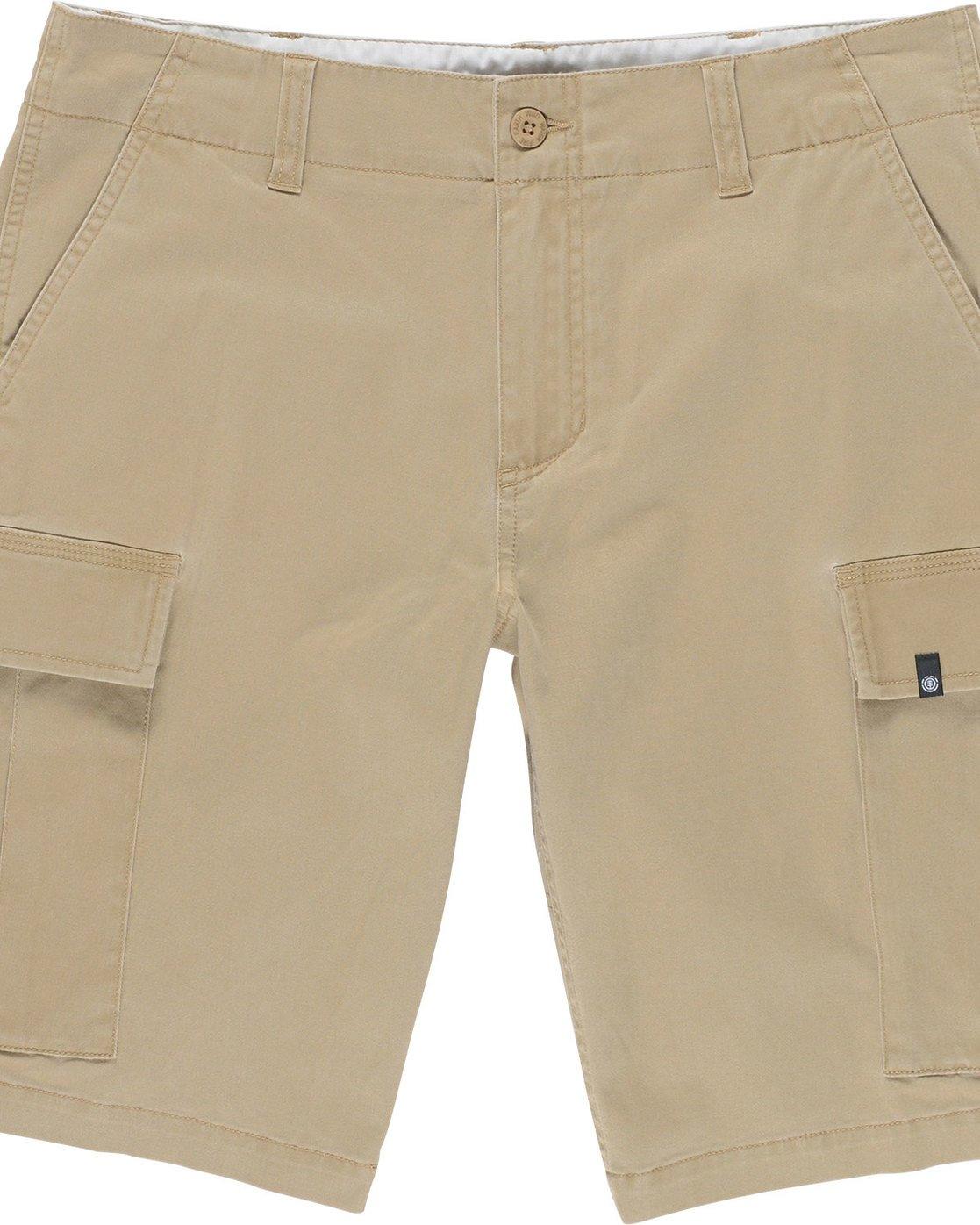 """5 Legion Cargo 21"""" - Shorts for Men Grey N1WKA3ELP9 Element"""