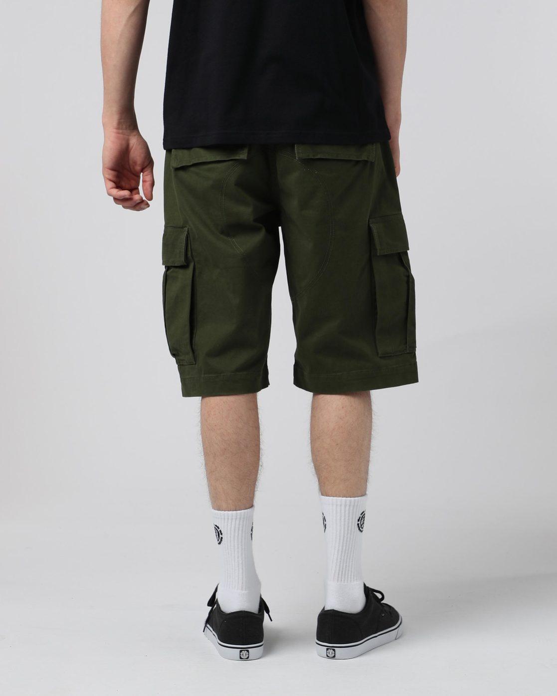 """2 Legion Cargo 21"""" - Shorts for Men Green N1WKA3ELP9 Element"""