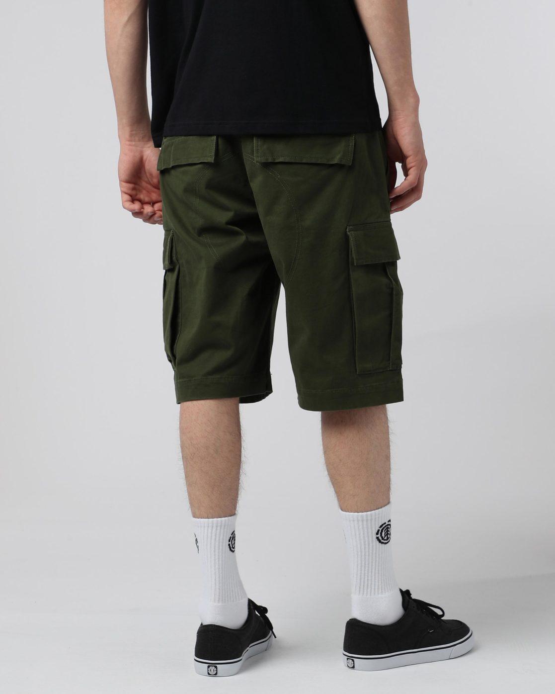 """3 Legion Cargo 21"""" - Shorts for Men Green N1WKA3ELP9 Element"""