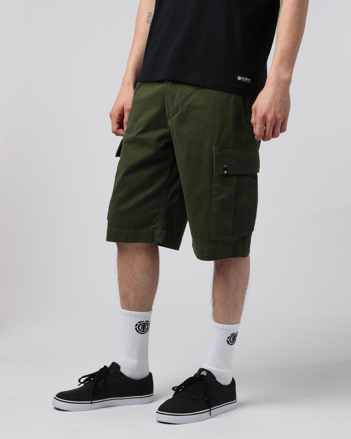 """1 Legion Cargo 21"""" - Shorts for Men Green N1WKA3ELP9 Element"""