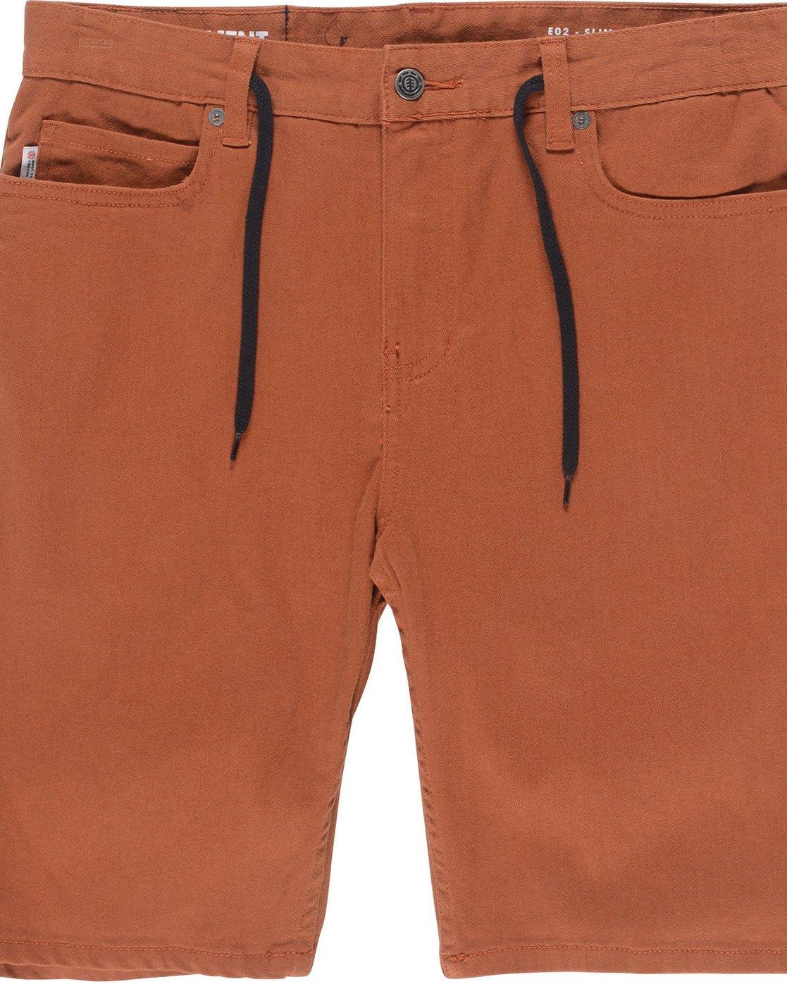 1 E02 Color Wk - Walkshort for Men Orange N1WKB4ELP9 Element
