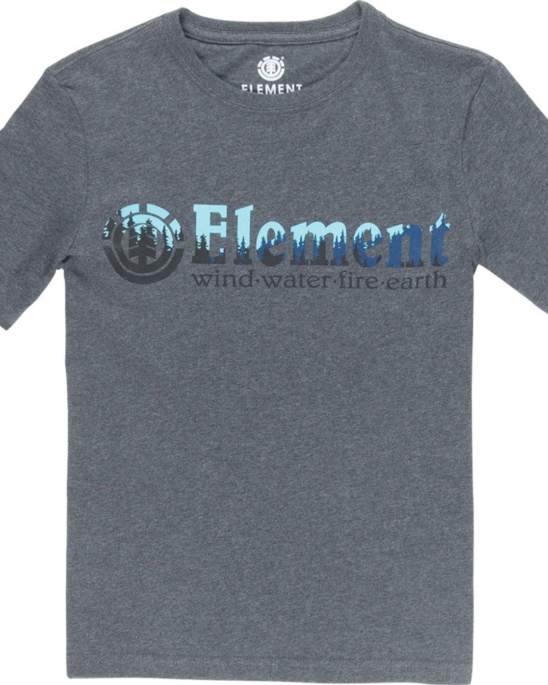 1 Glimpse Horizontal S - Tee Shirt for Boys Grey N2SSA4ELP9 Element