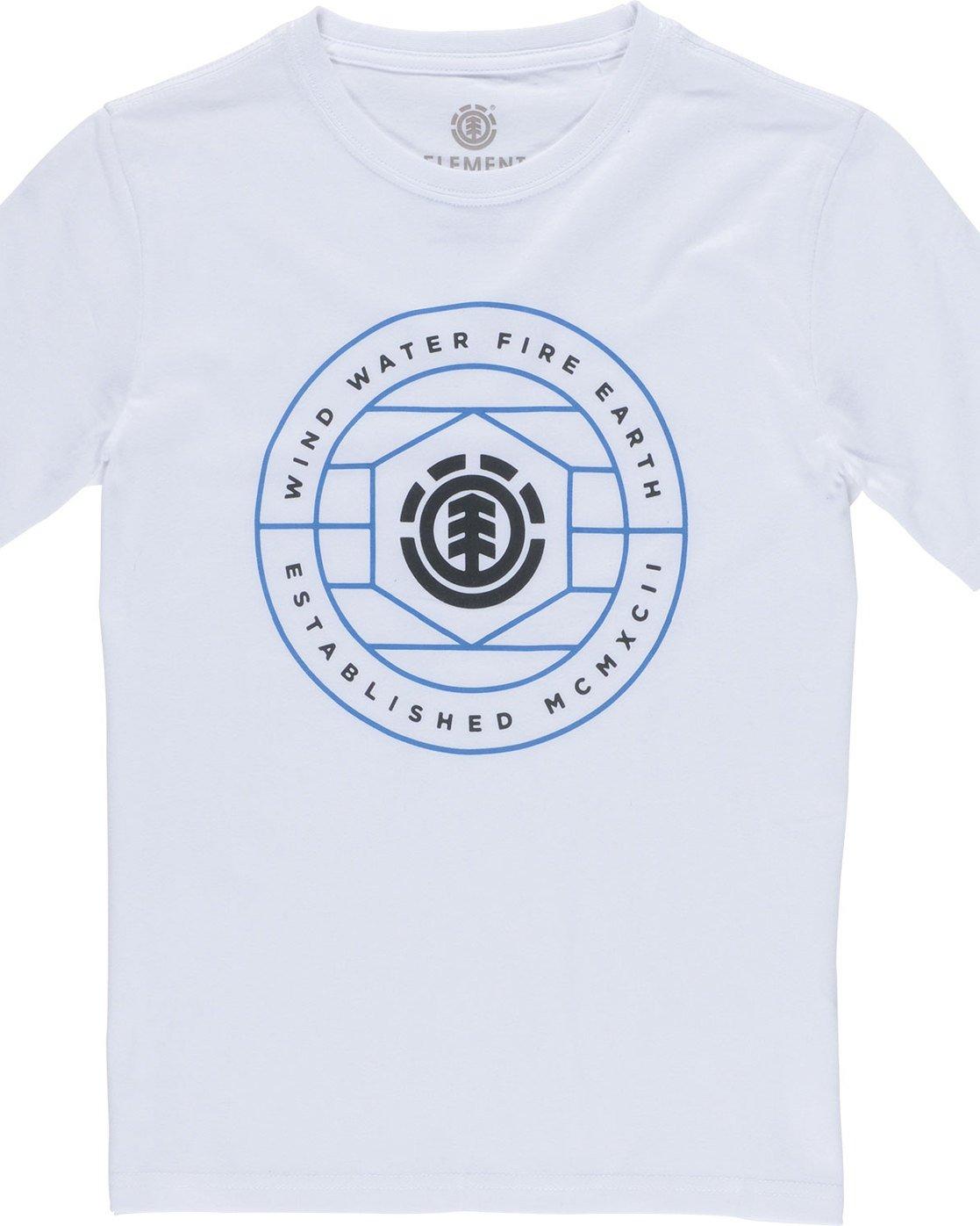1 Swivel Ss Boy - Tee Shirt for Boys White N2SSA9ELP9 Element