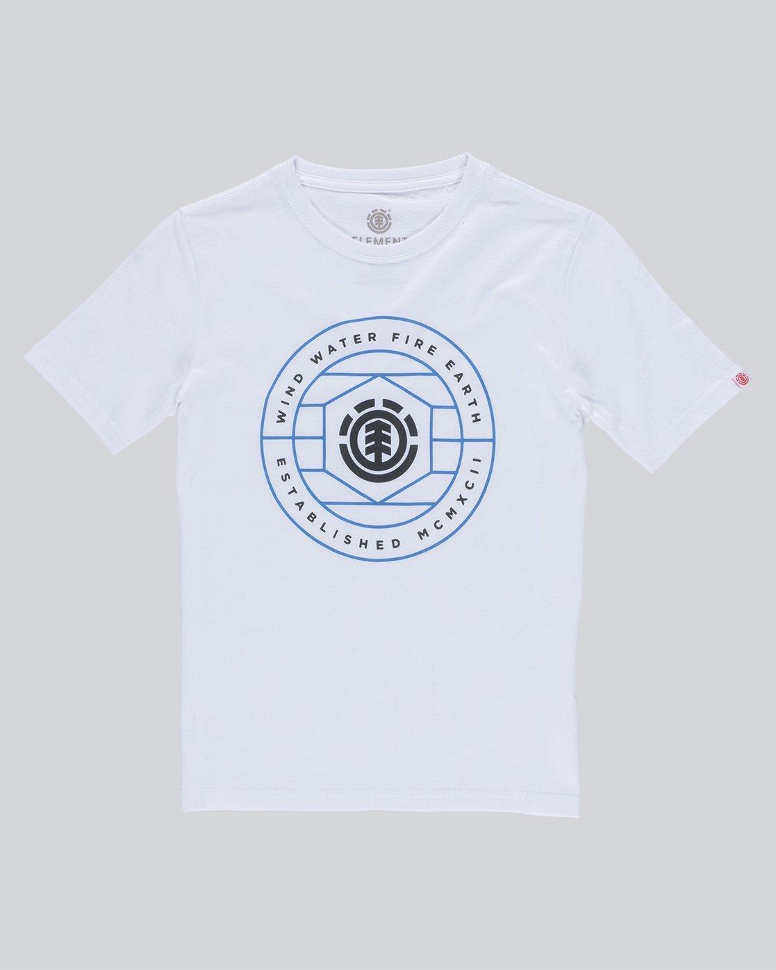 0 Swivel Ss Boy - Tee Shirt for Boys White N2SSA9ELP9 Element