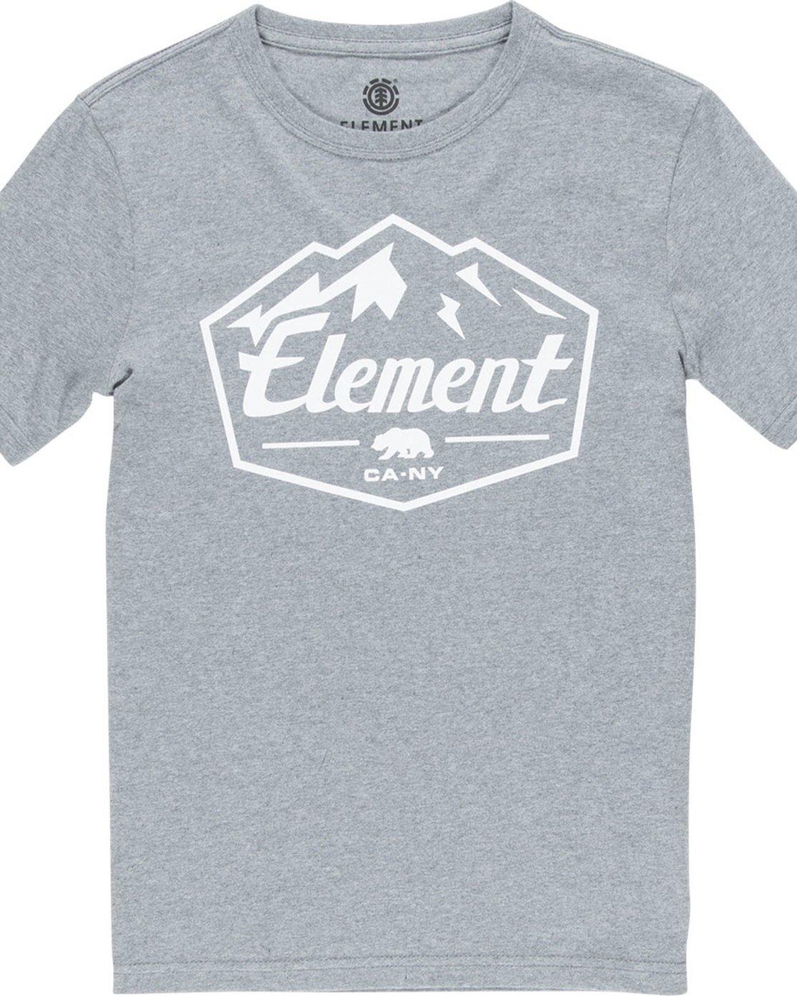 1 Slab Ss Boy - Tee Shirt for Boys Grey N2SSB3ELP9 Element