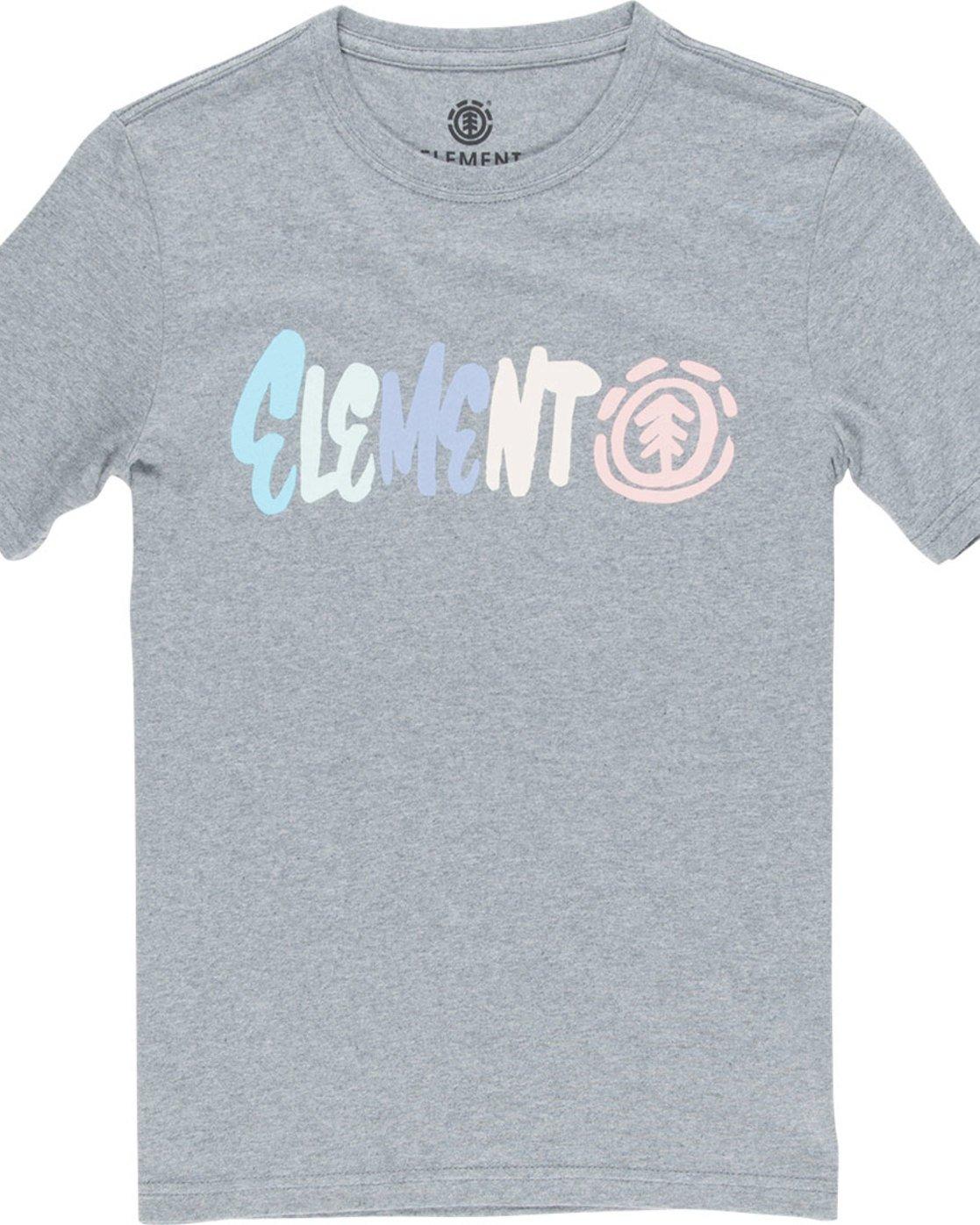 1 Chimp Ss Boy - Tee Shirt for Boys Grey N2SSB5ELP9 Element