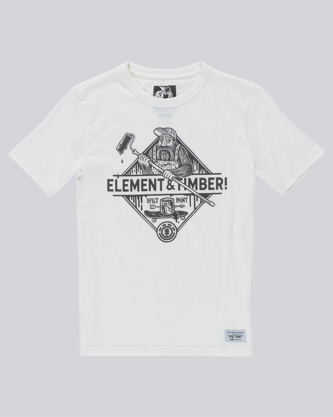0 Rolling Ss Boy - Tee Shirt for Boys White N2SSC2ELP9 Element