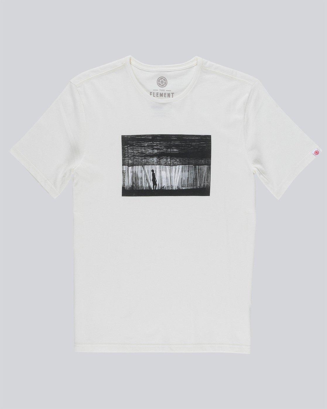 0 Liquid Ss Boy - Tee Shirt for Boys Beige N2SSC5ELP9 Element