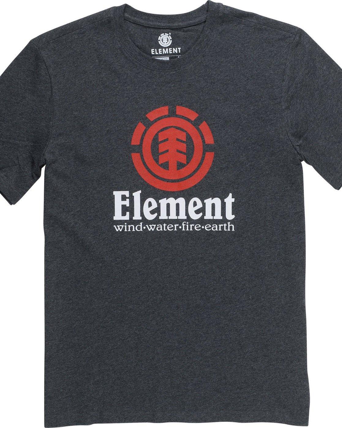 Element Vertical Tee Eclipse Navy Element Men/'s Clothing T-Shirts