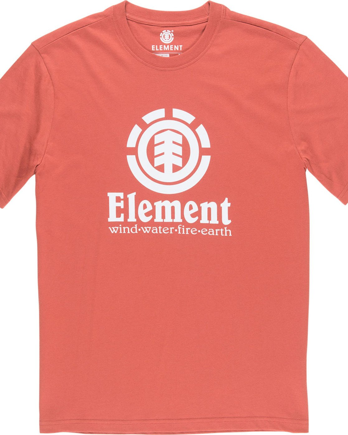 1 Vertical - Short Sleeve T-Shirt for Boys Red N2SSC8ELP9 Element