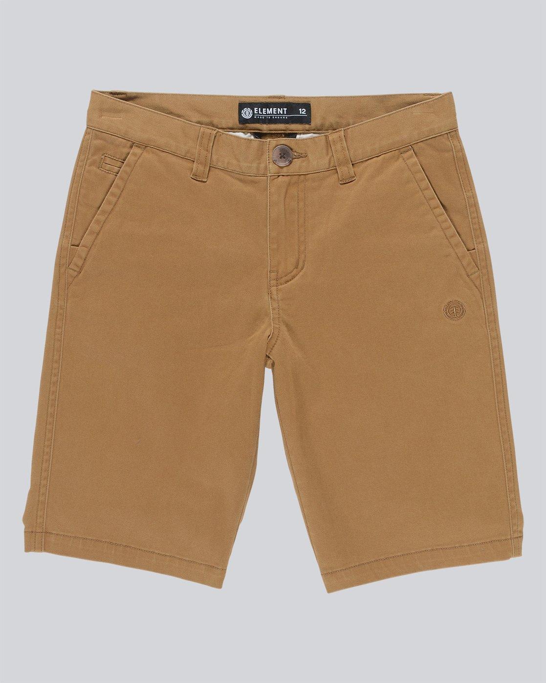0 Howland Classic Wk B - Walkshort for Boys Brown N2WKA1ELP9 Element