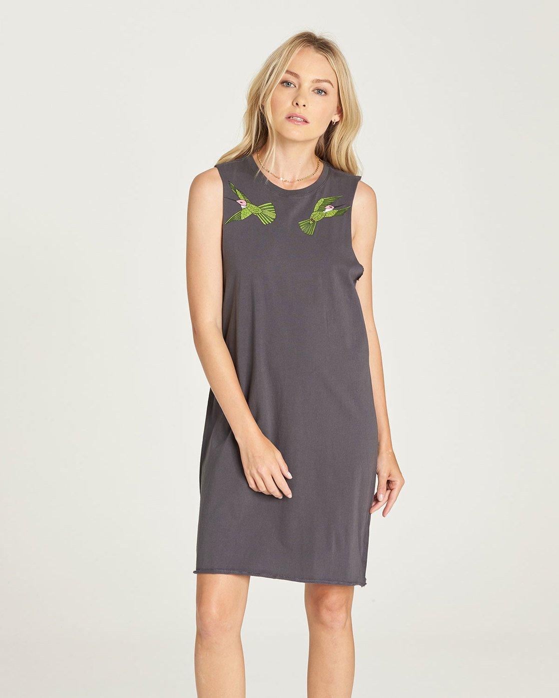 0 Birdy - Dress for Women Black N3DRB9ELP9 Element