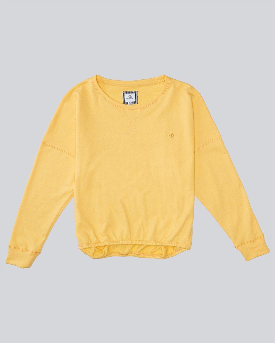 0 Keegan Cr - Fashion Fleece for Women Yellow N3FLA2ELP9 Element
