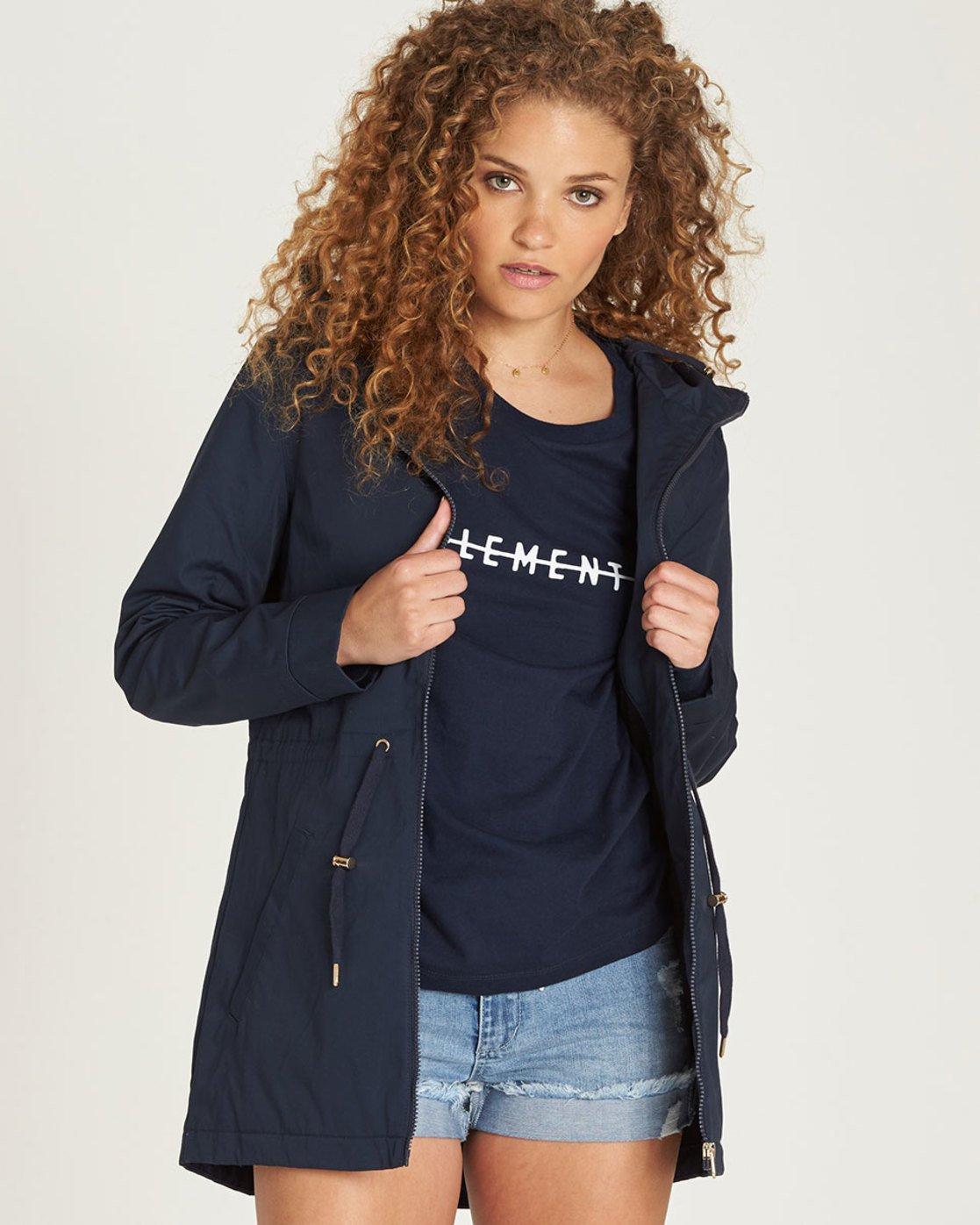 0 Wynn - Jacket for Women Blue N3JKA2ELP9 Element