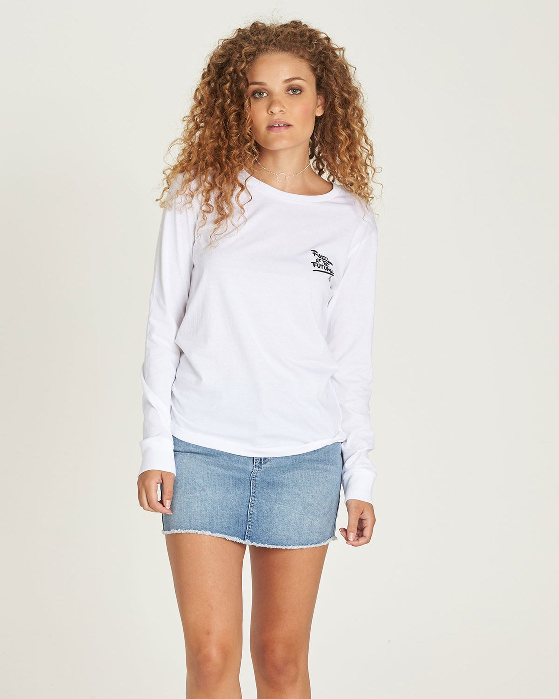 0 Yawyd Ls - Tee Shirt for Women White N3LSA8ELP9 Element